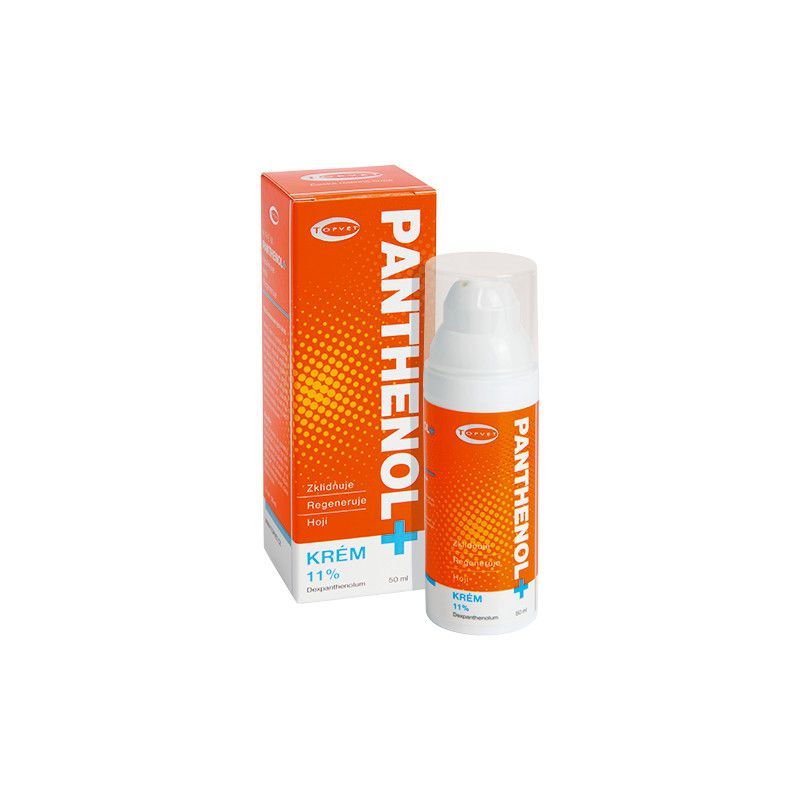 PANTHENOL + krém 11% 50ml TOPVET
